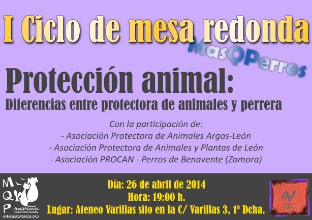 Segunda Mesa Redonda: Protección Animal.