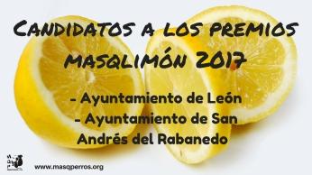Candidatos a los premios masqlimón 2017